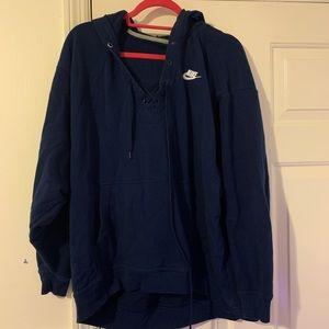 Nike navy blue sweatshirt